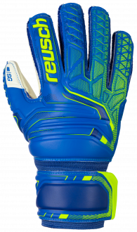 Reusch Attrakt SG Finger Support Junior 5072810 4940 blue yellow front